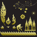Thai art pattern Royalty Free Stock Photos