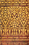 Thai art pattern Royalty Free Stock Image