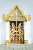 Thai art on Pavilion Stock Photo