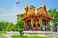Thai art pavilion in Bangkok Stock Image