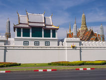 Thai art places in Royal grand palace Royalty Free Stock Photography