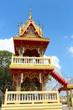 Thai art roof bell house Royalty Free Stock Photography
