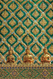 Thai art sculpture wall. Thai art sculpture and ancient wall stock images