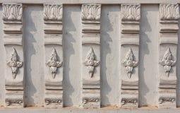 Thai art stucco. Stock Photos