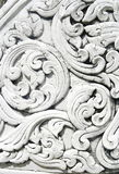 Thai art stucco wall Stock Photos