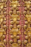 Thai art stucco wall Stock Photos