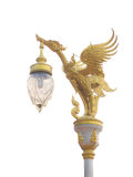 Thai art style light pole Stock Photography