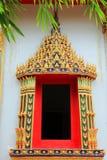 Thai art in temple Stock Photo