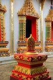 Thai art in temple Stock Photos
