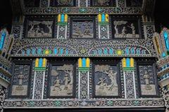Thai art  temple in Thailand Royalty Free Stock Photo
