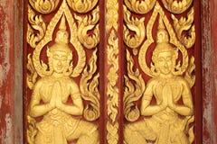 Thai art texture Royalty Free Stock Photos