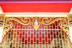 Thai art  wall Stock Photo