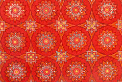 Thai art wall pattern Stock Photography