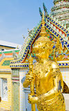 Thai Art in Wat Phra Kaew Temple, at Thailand. Royalty Free Stock Images