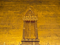 Thai art window Royalty Free Stock Photography