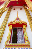 Thai art of the window Stock Photography