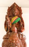 Thai art of wood carving Royalty Free Stock Photography