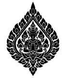 Thai arts angel,  pattern Royalty Free Stock Photo