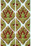 Thai arts  pattern Royalty Free Stock Photo