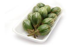 thai aubergine Royaltyfri Fotografi