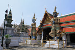 Thai Authentic Architecture in Bangkok Royalty Free Stock Images