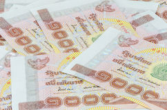 Thai baht bank note Stock Images