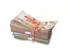 Thai baht banknote Stock Photo