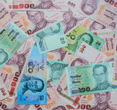 Thai Baht banknotes Stock Photos