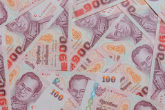 Thai Baht banknotes Royalty Free Stock Image