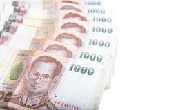 Thai baht banknotes Stock Photography