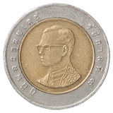 Thai baht coin Royalty Free Stock Images