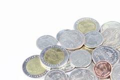 Thai Baht Coins Royalty Free Stock Photos