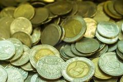 Thai baht för mynt Royaltyfri Fotografi