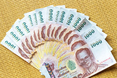 Thai baht money Stock Photos