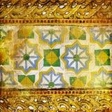 thai bakgrund Arkivfoto