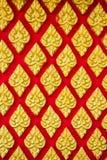 Thai bakgrund för abstrakt textur Royaltyfri Bild