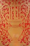 thai bakgrundsdesignmodell Royaltyfria Bilder