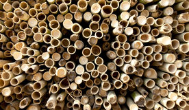 Thai Bamboo pipes Royalty Free Stock Photo