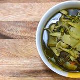 Thai bamboo shoot soup. Stock Photo