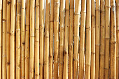 Thai Bamboo Wall Stock Images