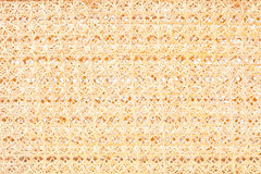 Thai bamboo weave pattern Stock Photography