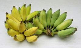 Thai bananas stock images