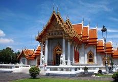 thai bangkok buddistiskt tempel Arkivfoto