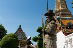 thai bangkok tempel arkivbilder