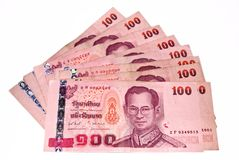 THAI BANKNOTE Stock Image