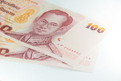 Thai banknote 100 Baht Royalty Free Stock Images