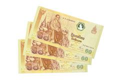 Thai banknote Royalty Free Stock Photo