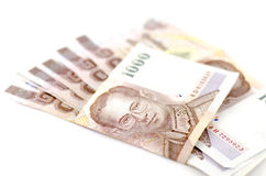 Thai banknote Royalty Free Stock Photography