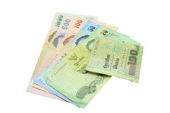 Thai banknote Royalty Free Stock Photos