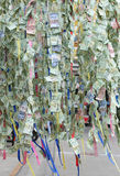 Thai banknotes background in traditional for religion. Thai banknotes background as offering money tradition for religion stock image